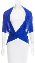 Eres Lightweight Wrap Capelet w/ Tags