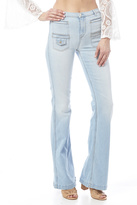 7 For All Mankind Georgia High-Waist Flare