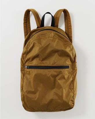 Baggu Packable Backpack - Bronze