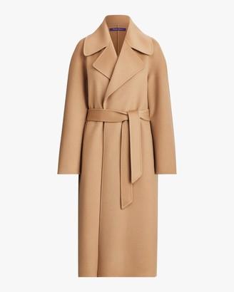 Ralph Lauren Collection Leonarda Wrap Coat