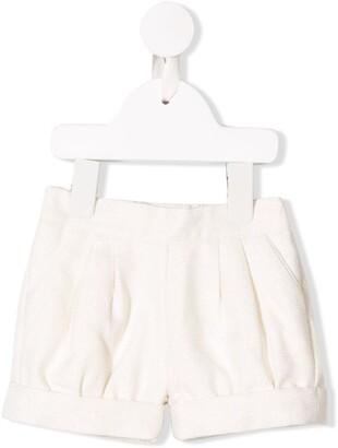 Chloé Kids textured shorts