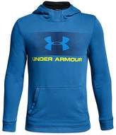 Under Armour Boys' French Terry Logo Hoodie - Big Kid