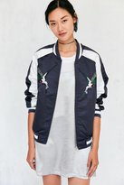 Silence & Noise Silence + Noise Birds Of Paradise Embroidered Bomber Jacket