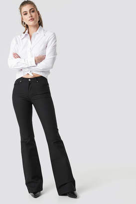 Trendyol Flared High Waist Jeans Black