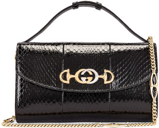 Gucci Zumi Shoulder Bag in Black | FWRD