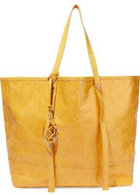 See by Chloe Andy Bisou Embossed Textured-leather Tote