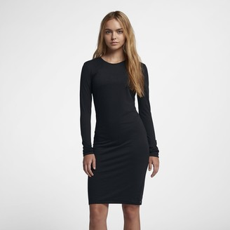 Nike Women's Long-Sleeve Dress Hurley Dri-FIT