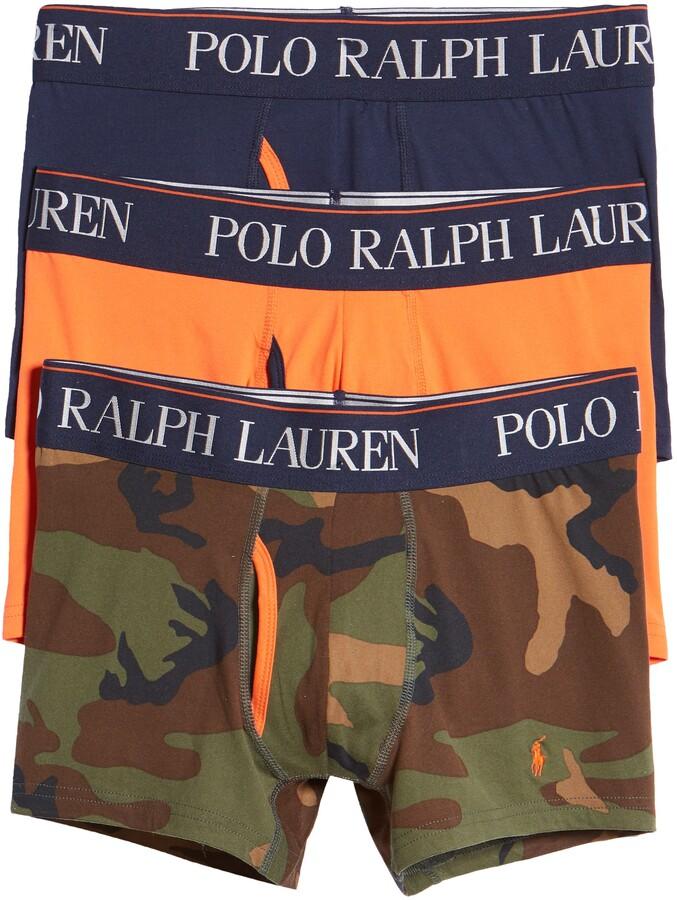 Polo Ralph Lauren 3-Pack 4D Microfiber Boxer Briefs