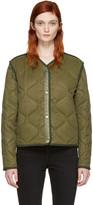 Rag & Bone Green Short Forest Liner Jacket