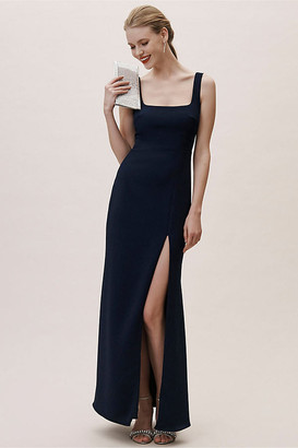 BHLDN Adena Dress By in Blue Size 22