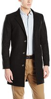 Nautica Men's 3 Button Wool Blend 37 Inch Topcoat