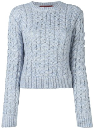 Sies Marjan Thatched Cable Sweater