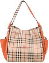 Burberry Small Haymarket Check Canterbury Tote