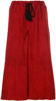 Forte Forte cropped wide-leg trousers