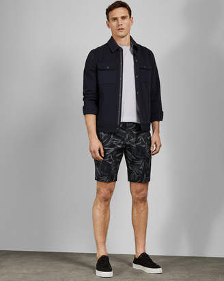 Ted Baker AUSRAL Printed cotton shorts