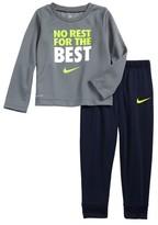 Nike Infant Boy's Dry Thermal Top & Sweatpants Set