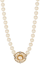 Carolee Faux Pearl Cast Necklace