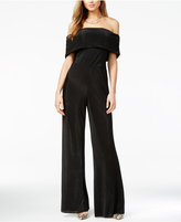 GUESS Luna Off-The-Shoulder Jumpsuit