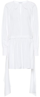 J.W.Anderson Cotton-poplin minidress