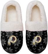 Redskins Unbranded Women's Washington Ugly Knit Moccasin Slippers
