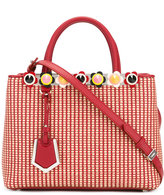 Fendi woven texture tote bag - women - Leather - One Size