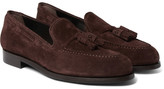 Paul Smith Simmons Suede Tasselled Loafers