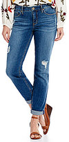 Miraclebody Jeans Perfect Boyfriend Destruction Detail Jeans