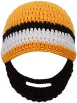 Simplicity Simplicity's Winter Warm Knit Bearded Face Mask Beanie