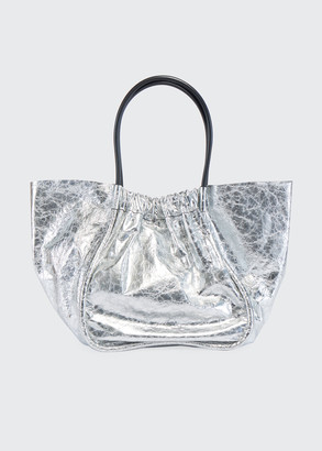 Proenza Schouler Extra Large Ruched Metallic Tote Bag