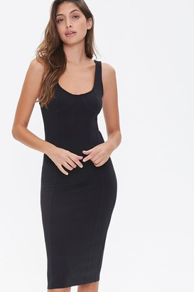 Forever 21 Knee-Length Bodycon Tank Dress