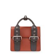 Vivienne Westwood Alex Leather Handbag 131221 in Orange