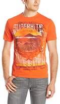 Buffalo David Bitton Men's Nicart Short Sleeve Superhits Graphic T-Shirt