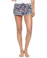 Juicy Couture Inky Leopard Knit Shorts