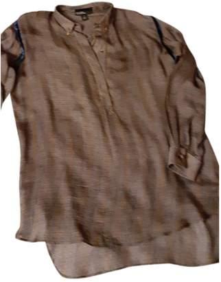 Tommy Hilfiger Grey Silk Top for Women