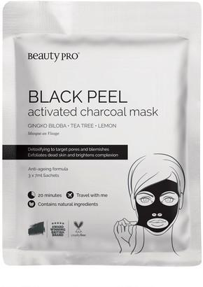 BeautyPRO Black Peel Charcoal Mask 3 X 7G