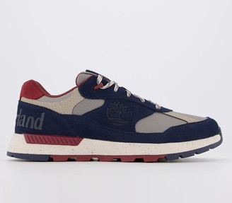 Timberland Field Trekker Low Trainers Navy Suede