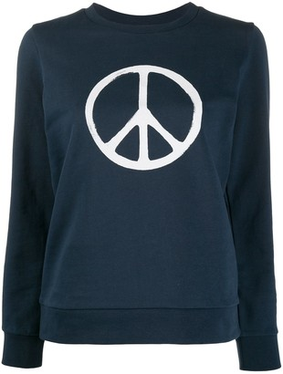 A.P.C. x RTH peace sign jumper