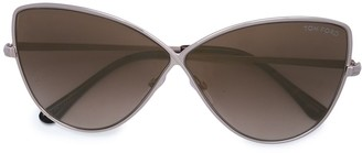 Tom Ford Elise butterfly style sunglasses
