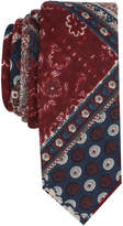 Original Penguin Men's Pershing Abstract Skinny Tie