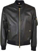 Burberry Leather Bomber
