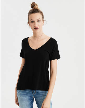 American Eagle AE Soft & Sexy V-Neck T-Shirt
