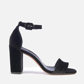 Whistles Women's Alba Barely There Block Heeled Sandals - Black
