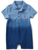Ralph Lauren Baby Boys 3-24 Months Americana Dip-Dyed Shortall