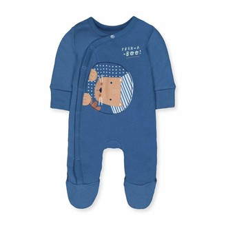 Mothercare Baby Boys' B Animal Friends Wadded WIS Bodysuit