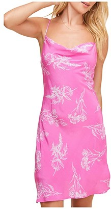 ASTR the Label Dancing Queen Dress (Azalea Pink Floral) Women's Dress