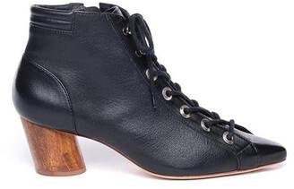 Bernardo Francie Lace-Up Leather