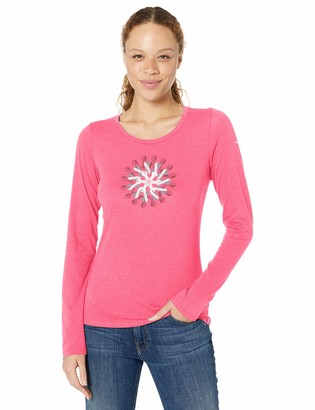 Columbia Women's Plus Size TTIP Long Sleeve Graphic Tee
