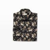 Club Monaco Slim Floral Shirt