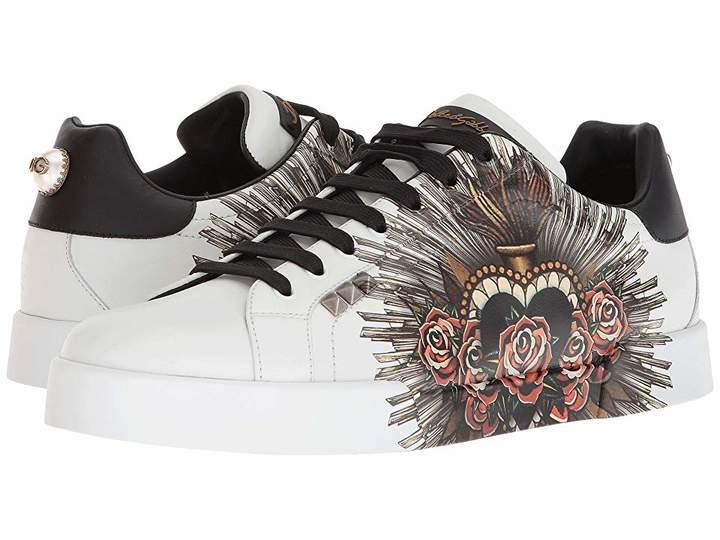 Dolce & Gabbana Sacred Heart Sneaker
