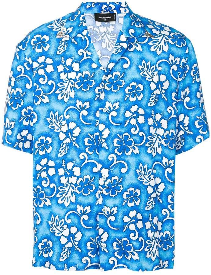 DSQUARED2 Hawaiian shirt